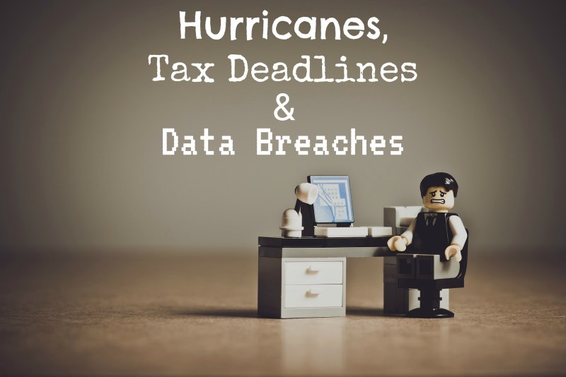 Hurricanes, Tax Deadlines in Mayfield Heights and Data Breaches