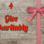 Campbell's Four Good Reasons To Give Charitably, Aside From Tax Deductions