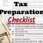 Jeffrey A Campbell CPA's 2017 Tax Preparation Checklist