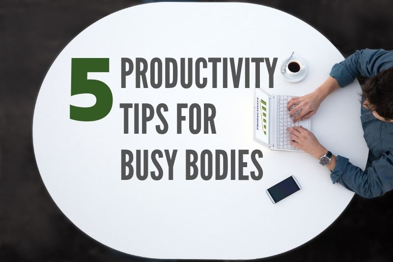 Five Productivity Tips for Mayfield Heights Busy Bodies